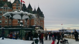 Chateau Frontenac during the day