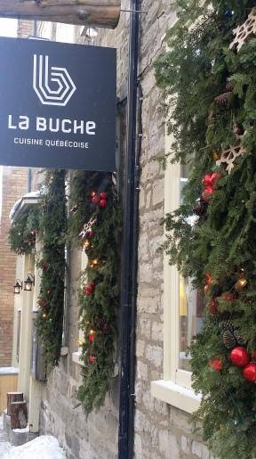 La Bûche - Unbelievable food!