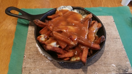 The BEST poutine we've ever had.
