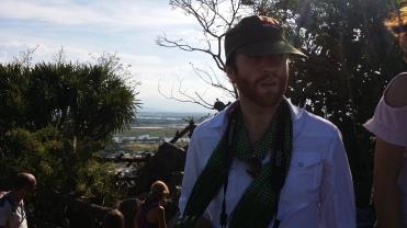 Jonathan on top of Marbel Mountain